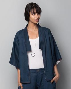 Hibiki Reversible Kimono Overlay