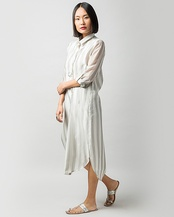 Pristine Big Stripe Dress