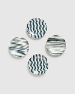 Maasai Tapas Plates (Set of 4)