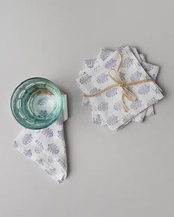 Matsu Cocktail Napkins (Set Of 6) - Lavender