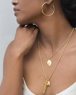 Gold Plated Snake Chain - Medium