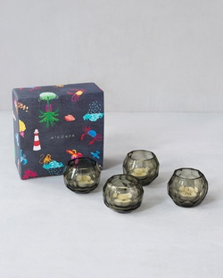 Haze Votives With Scented Tealights (Set of 4)