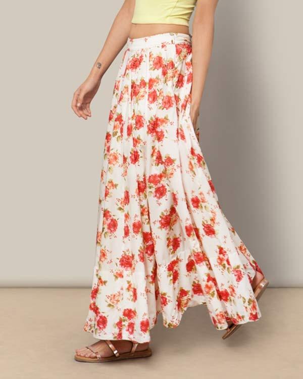 Panelled Skirt - Cheent