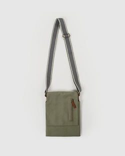Safari Men's Messenger - Olivine