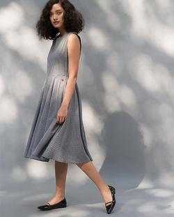 Yoroi Dress - Black & White