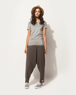 Ukiyo Short Sleeve Tee - Soft Grey