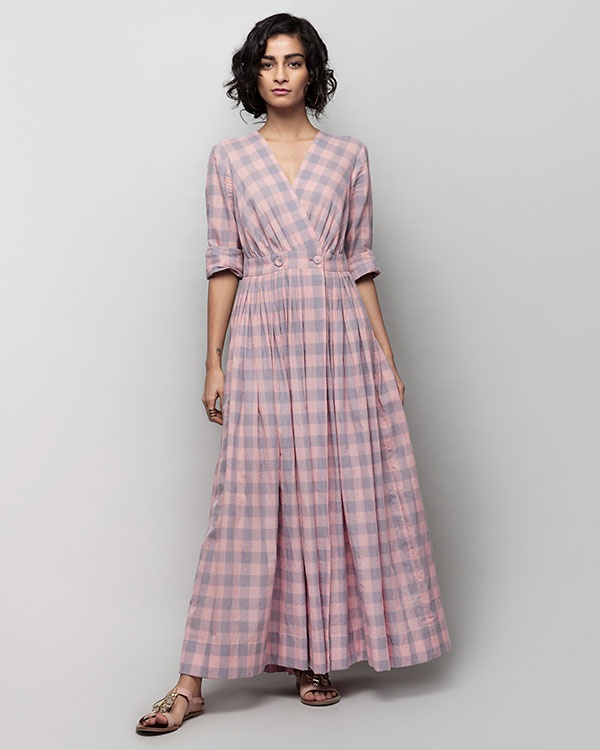 Nico Check Dress