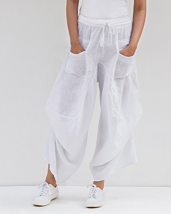 Yoka Trousers - White