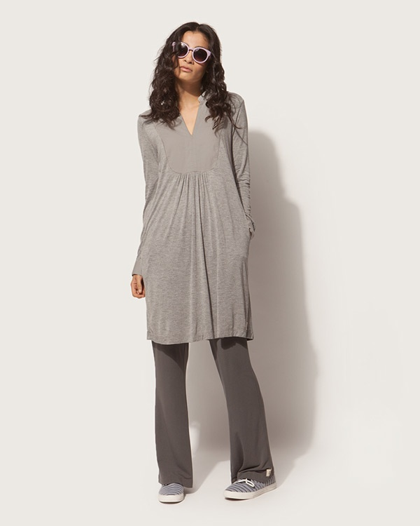 Shibui Tunic - Soft Grey