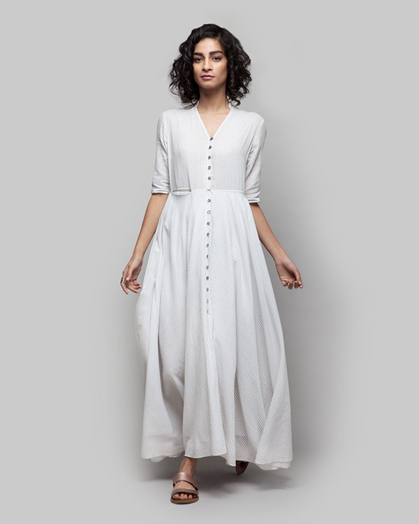 Akura Maxi Stripe Dress