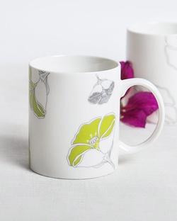 Frangi Flower Mug - Lime