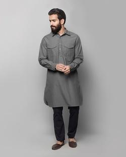 Nizamuddin Pathan Kurta - Stripe