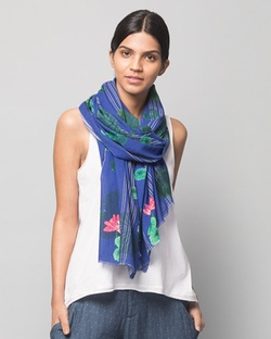 Rise Scarf - Blue