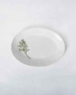 Aguada Oval Platter - White