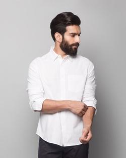 Havelock Shirt - White