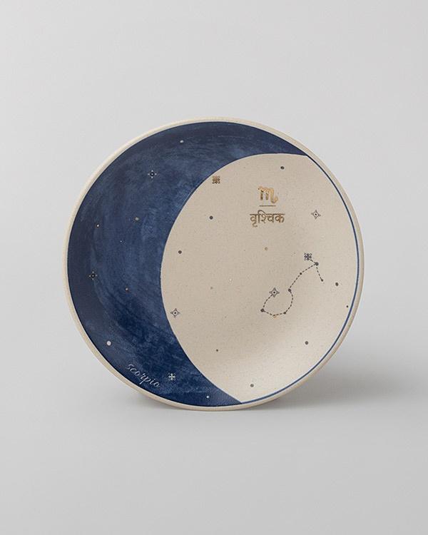Luna Tea Plate - Scorpio