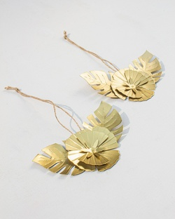 Flower Christmas Decoration (Set of 2)