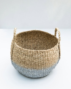 Twilight Seagrass Basket