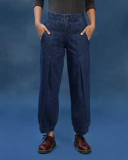 Stop & Refuel Trousers - Blue