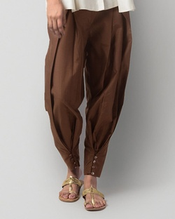 Jodhpurs Pant - Brown
