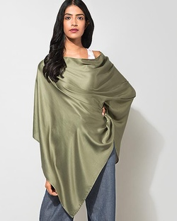 Waterfall Poncho - Olivine