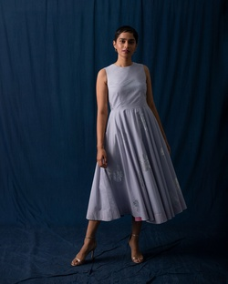 Yoroi Dress - Grey