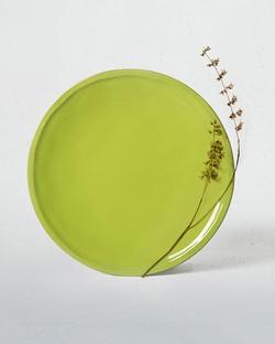 Aguada Quarter Plate - Lime