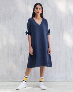A-line Dress - Indigo