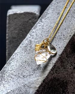Crystal Clove Necklace
