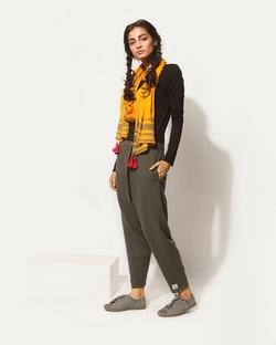 Jinan Slouchy Pants - Charcoal