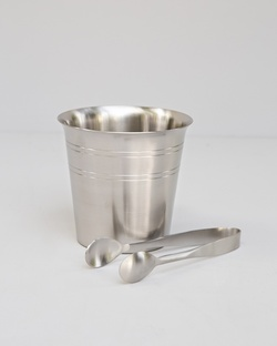 Prisma Ice Bucket with Tong