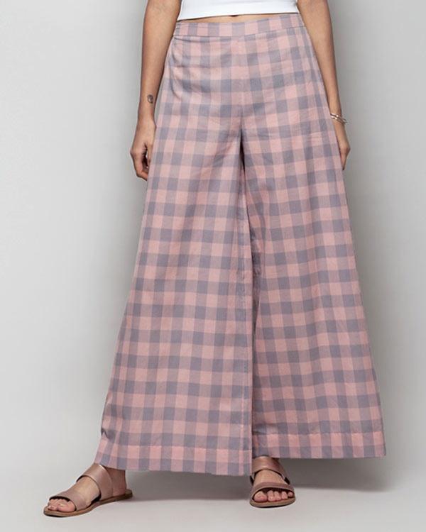 Basic Check PJs - Pink & Grey