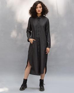 Pristine Dress - Charcoal