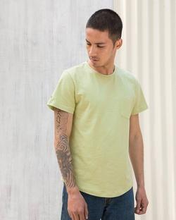 Pocket T-Shirt - Beige