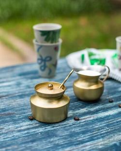 Dawa Sugar & Creamer Pots (Set of 2)