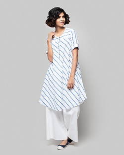 Wear Everywhere Striped Kurta