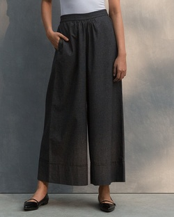 Wide Leg Culotte- Black & White