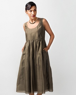Ashwani Dress - Olive