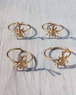 Bugsy Napkin Rings (Set of 4)