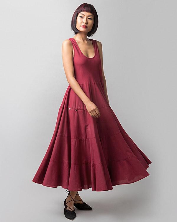 Daisy Dress - Red