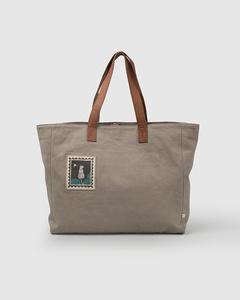 Mukayu Box Tote - Grey