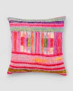 Kente Stripe Cushion