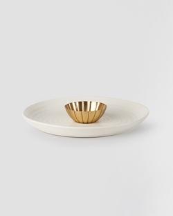 Lotus Chip & Dip Platter