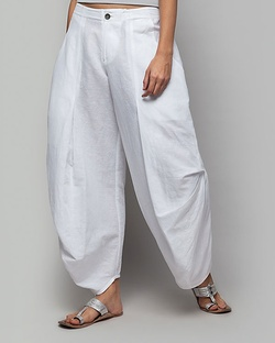 Weekend Trouser - White