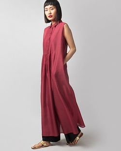 Summer Fun Kurta - Red