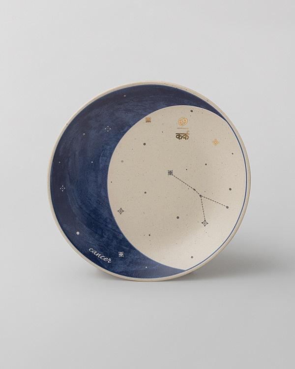 Luna Tea Plate - Cancer