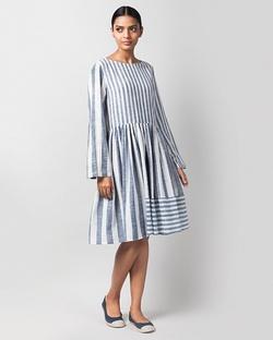 Rainy Season Stripe Dress