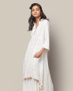 High-low Kurta - Ivory