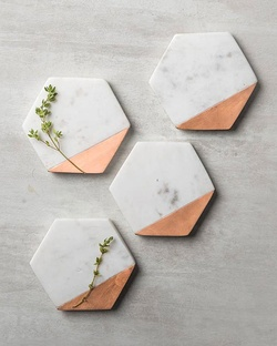 Hexa Coasters (Set Of 4)