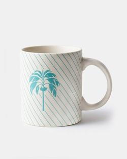 Palm Mug - Aqua